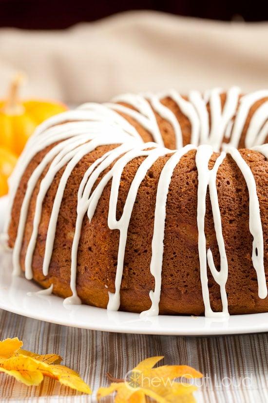 Pumpkin Cheesecake Bundt Cake