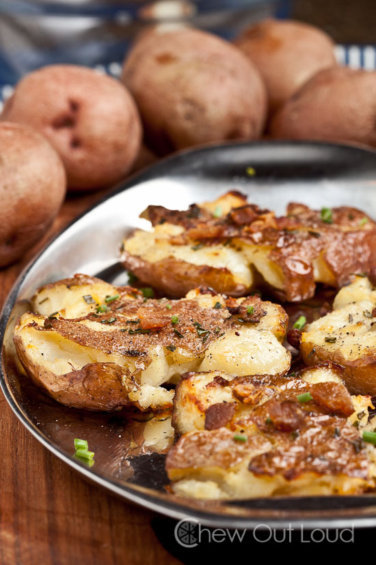 Smashed Red Potatoes 2