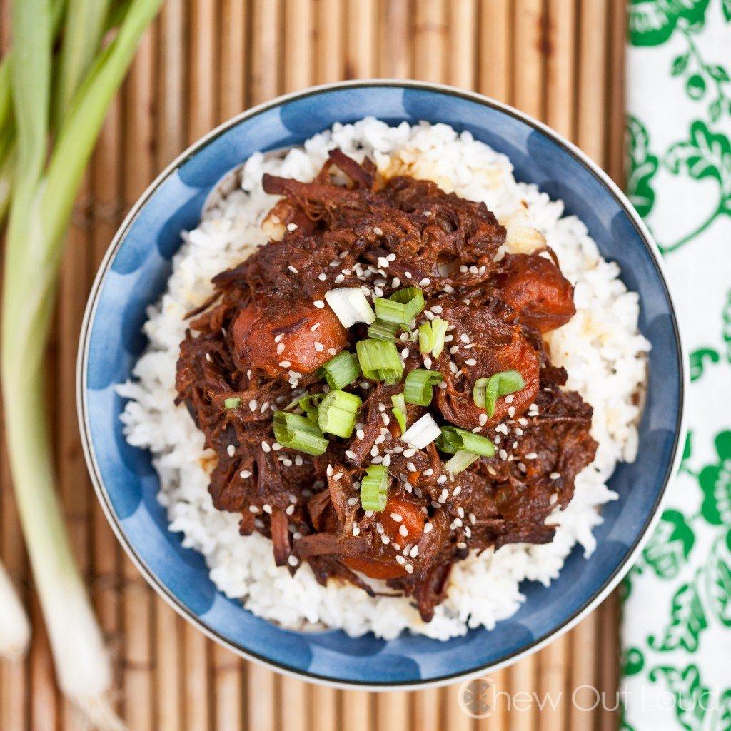 Sweet Korean BBQ Slow Cooker 3
