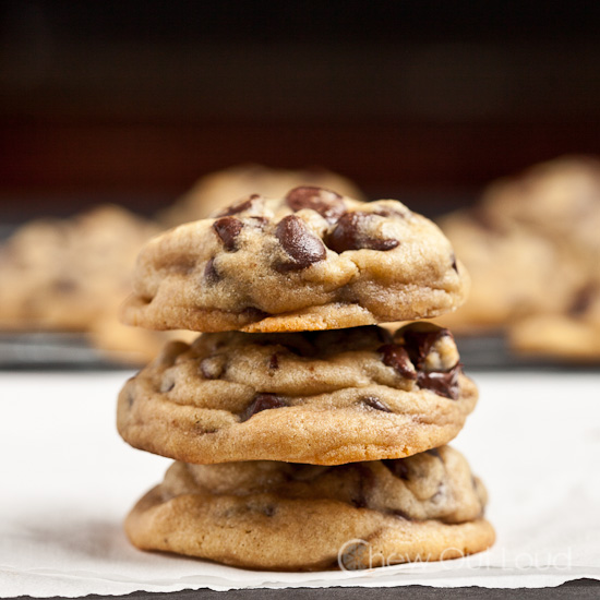 Chewy Soft Chocolate Chip Pudding Cookies