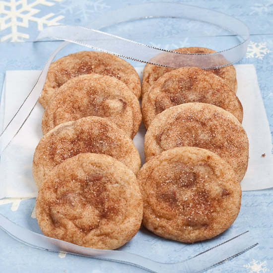 Chewy Soft Snickerdoodles Cookies