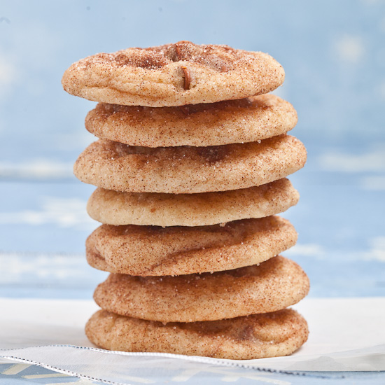 Chewy Soft Snickerdoodles cookies 2