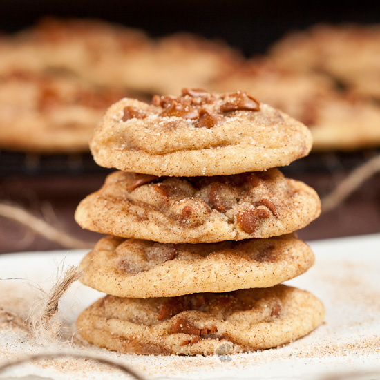 Chewy Soft Snickerdoodles