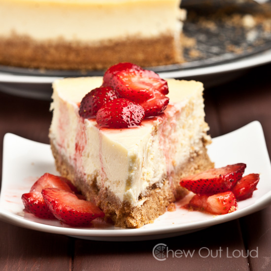 perfect new york style cheesecake no cracks chew out loud