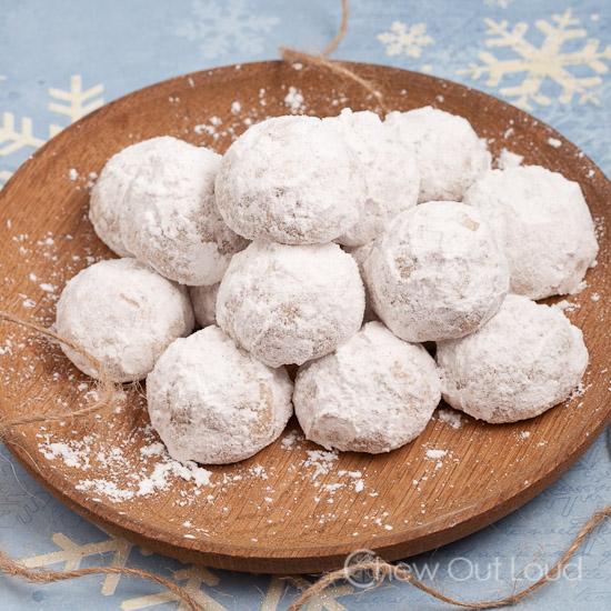 Russian Tea Cakes (Snowballs)