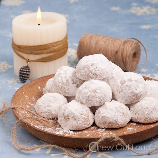 Snowball Cookies Russian Tea Cakes