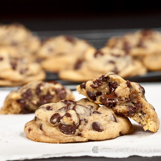 Soft Chocolate Chip Pudding Cookies