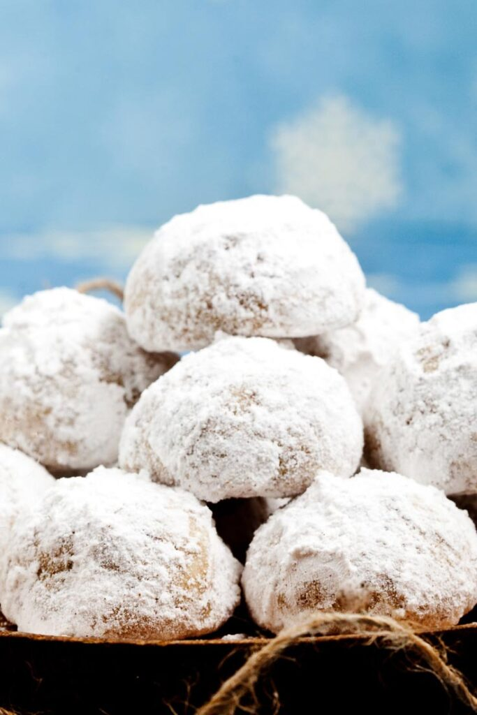 snowball cookies, russian tea cakes, mexican wedding cakes, pecan balls