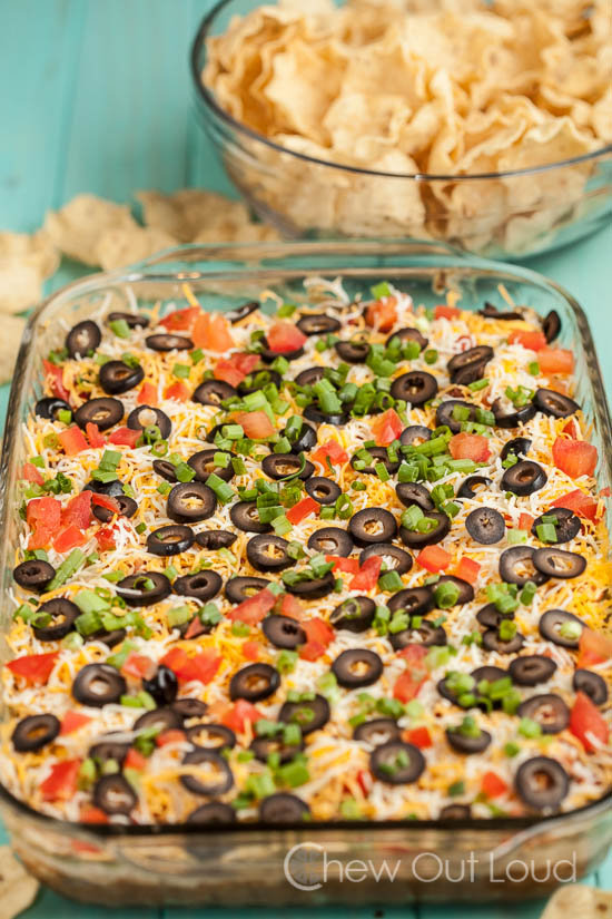 7 Layer Mexican Dip 3
