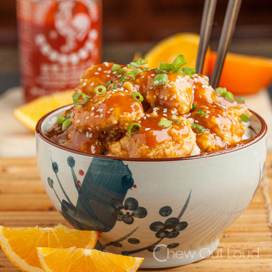 Orange chicken with sriracha chew out loud chinese orange chicken forumfinder Choice Image