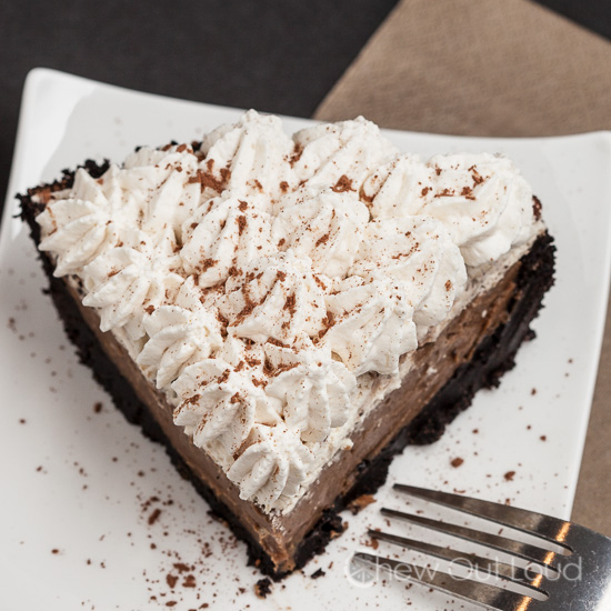 chocolate mocha cream pie