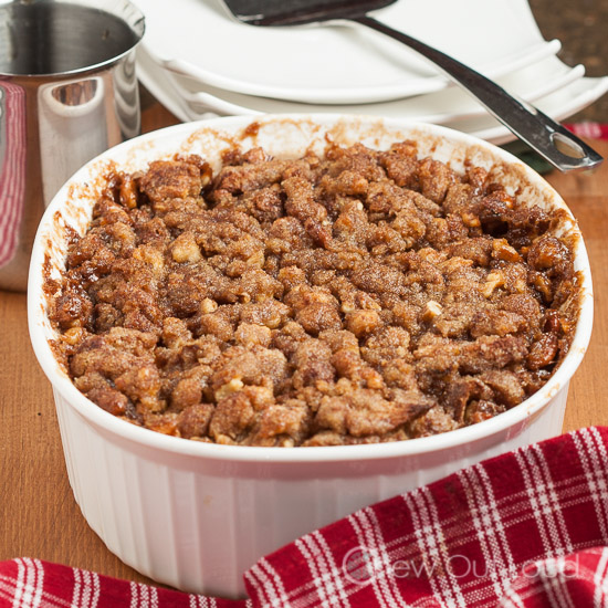 French Toast Casserole Brown Sugar Crumble