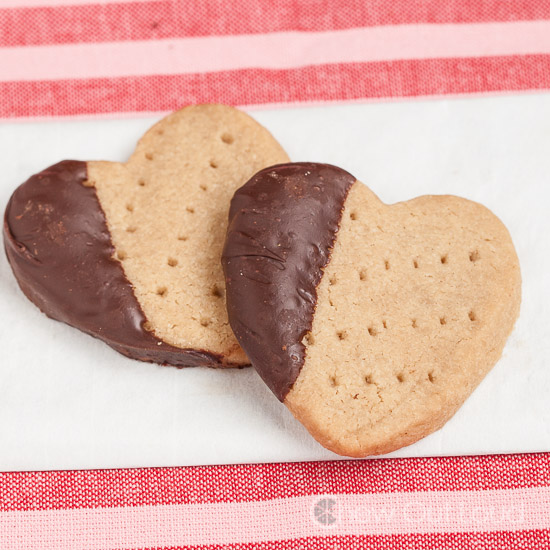 Shortbread dipped in Chocolate