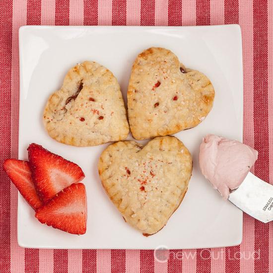Strawberry Cheesecake Hand Pies 2