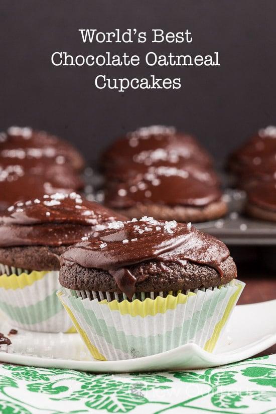 World's Best Chocolate Oatmeal Cupcake
