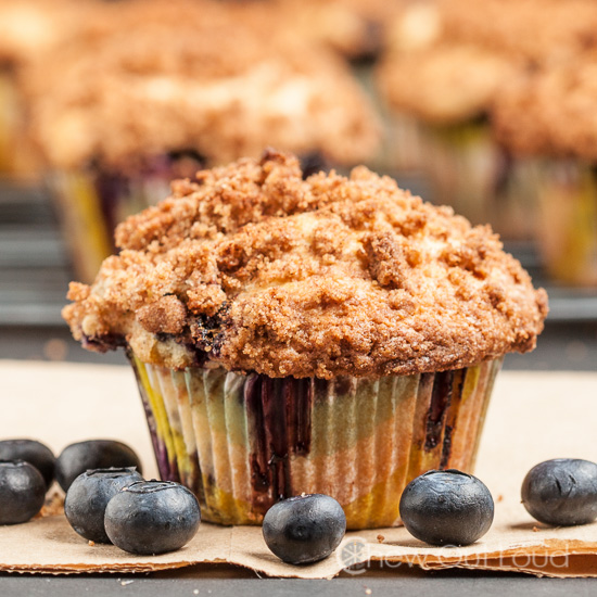Bakery Blueberry Muffins, brunch recipes