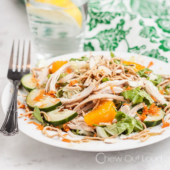Chinese chicken salad sesame