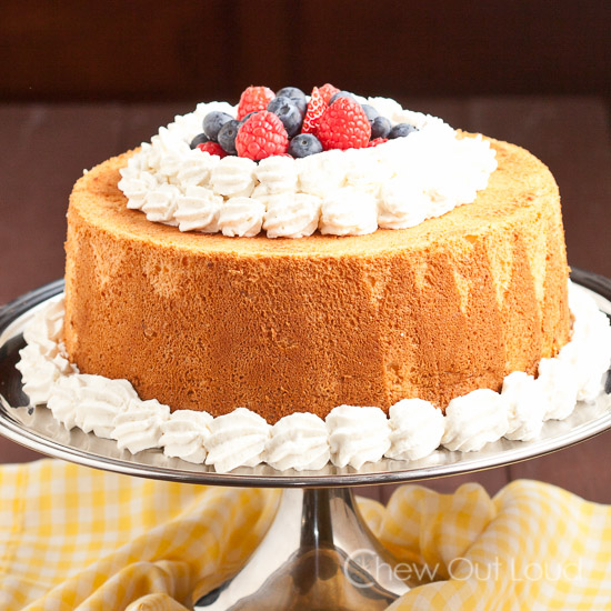 The Best Angel Food Cake Ever