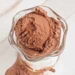 Eggless Chocolate Ice Cream