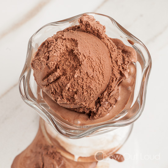 no egg chocolate ice cream