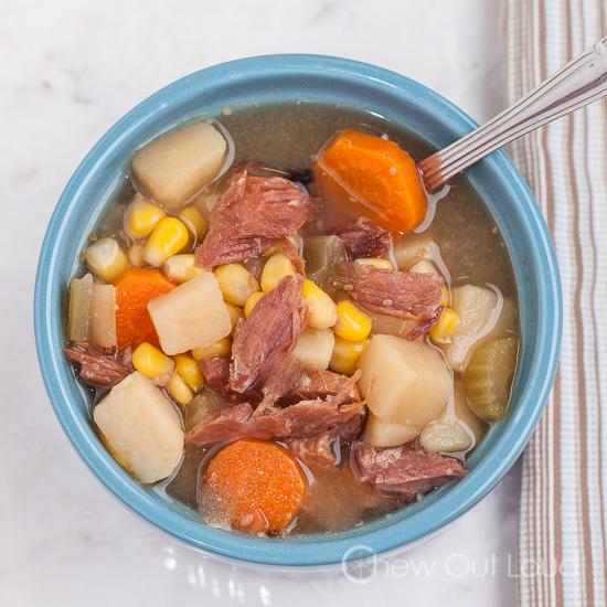Ham Potato Vegetable SoupChew Out Loud