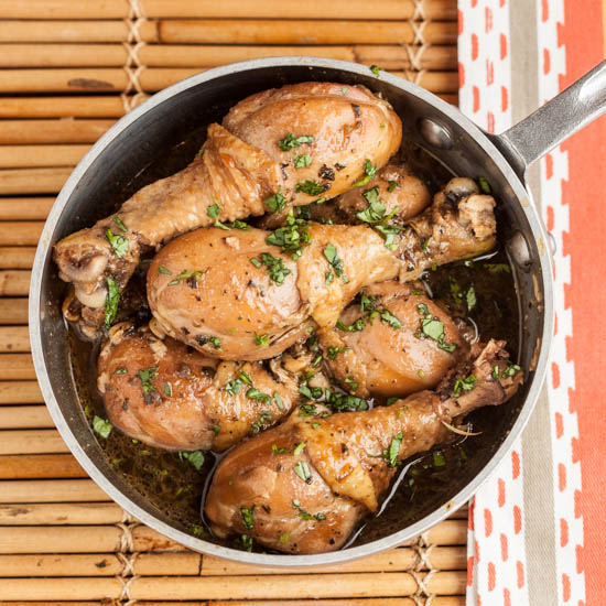 Garlic and Soy Braised Chicken