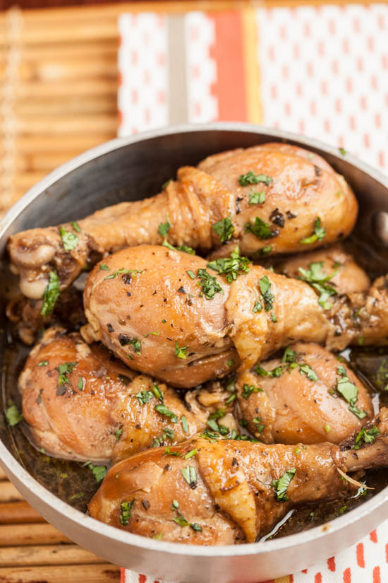 Garlic and Soy Sauce Braised Chicken
