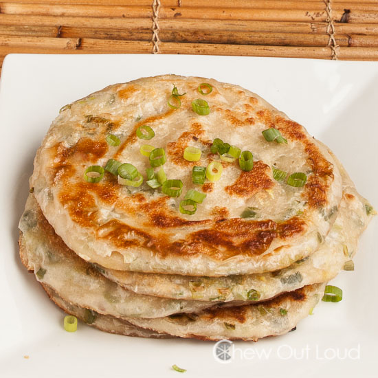 Green Onion Scallion cakes