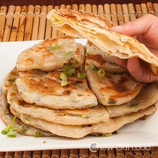 Green Onion:Scallion Pancakes