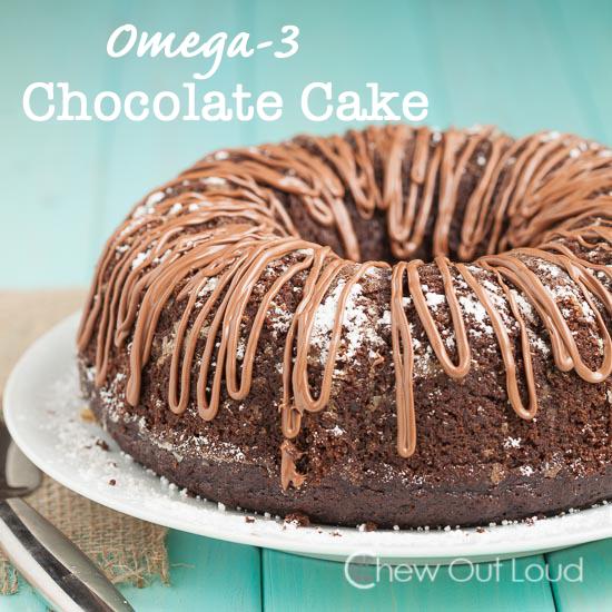 Omega 3 Chocolate Cake