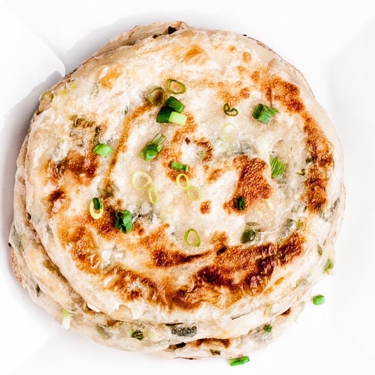 green onion scallion pancakes