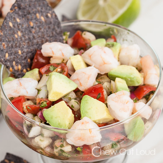 Shrimp Ceviche Cocktail