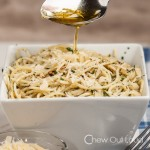 Spaghetti with Garlic and olive oil