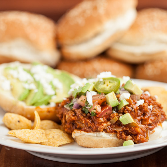 Tex Mex Sloppy Joes 3