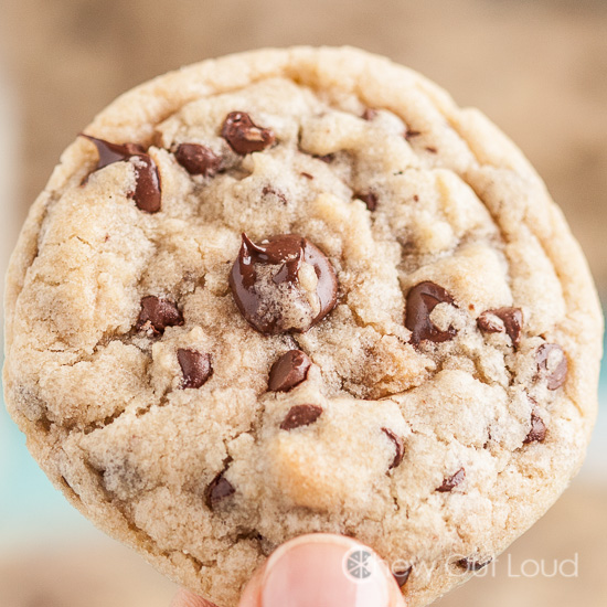Thick and Chewy Chocolate Chip Cookies 2