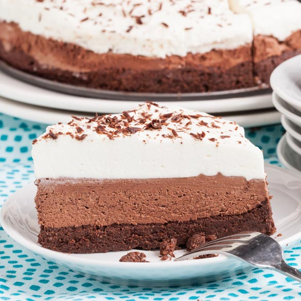 Triple Chocolate Mousse Cake 2