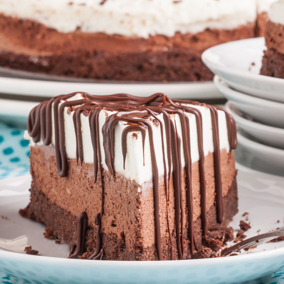 Triple Chocolate Mousse Cake 4