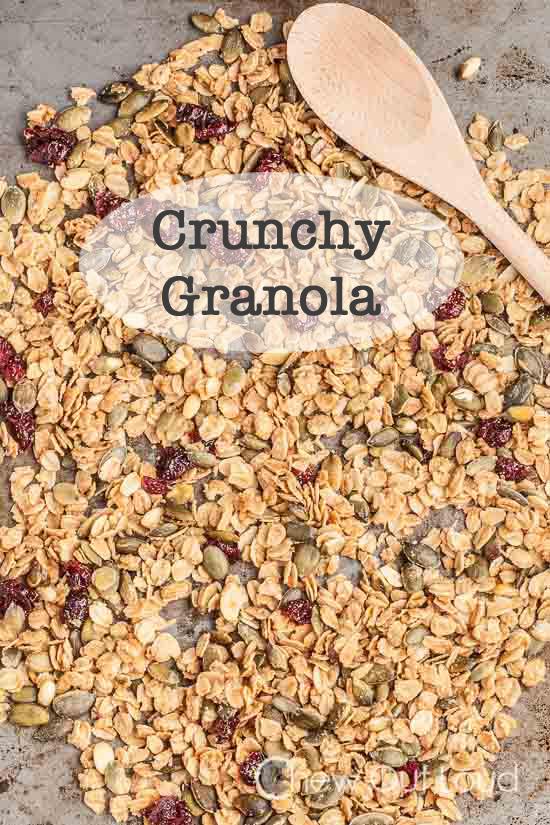 crunchy granola 1