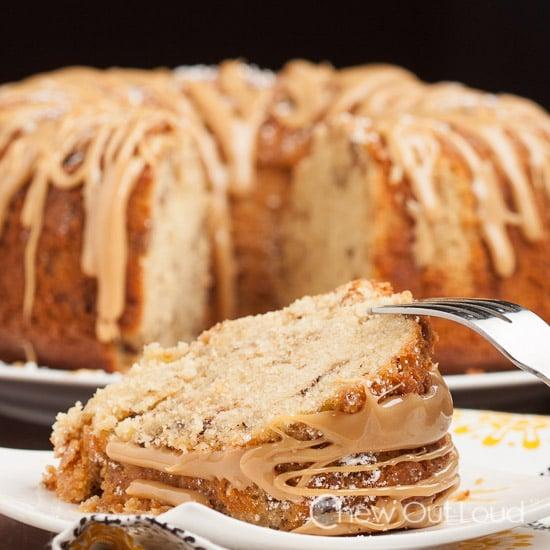 Brown Sugar Caramel Pound Cake Chew Out Loud - Brown sugar cake