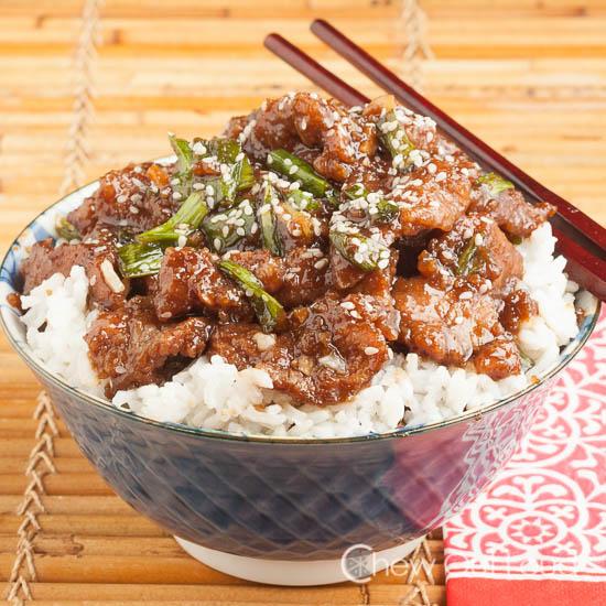 Mongolian Beef P.F. Chang clone