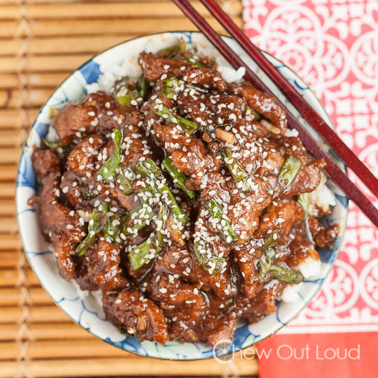 Mongolian Beef P.F. Chang