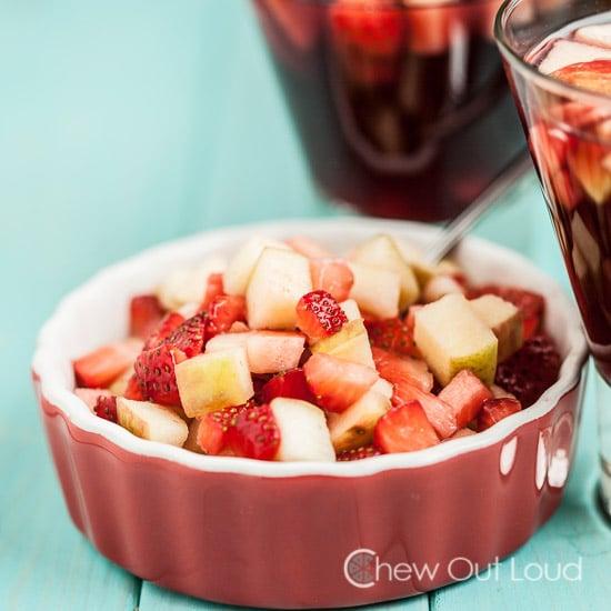 Sangria fruit