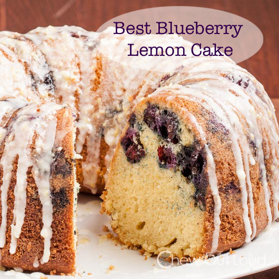 Blueberry Lemon Pound cake copy