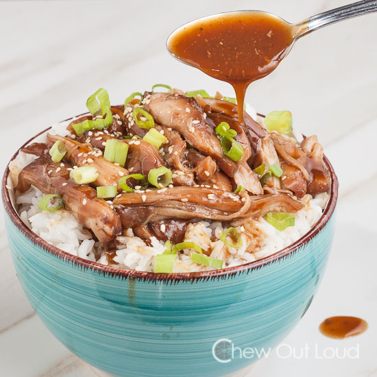 Slow Cooker Chicken Teriyaki Giveaway Chew Out Loud