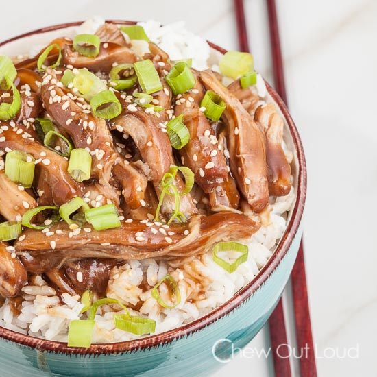 Slow Cooker Chicken Teriyaki 2