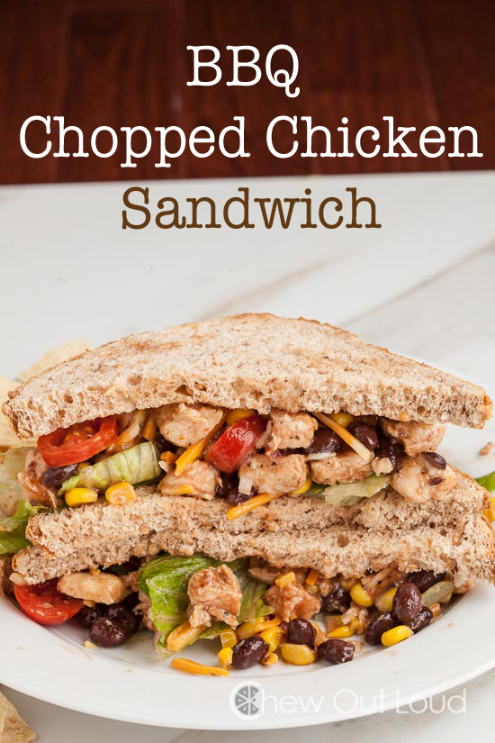 BBQ Chopped Ckn Sandwich