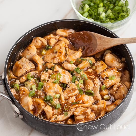 Easy Sesame Chicken 2
