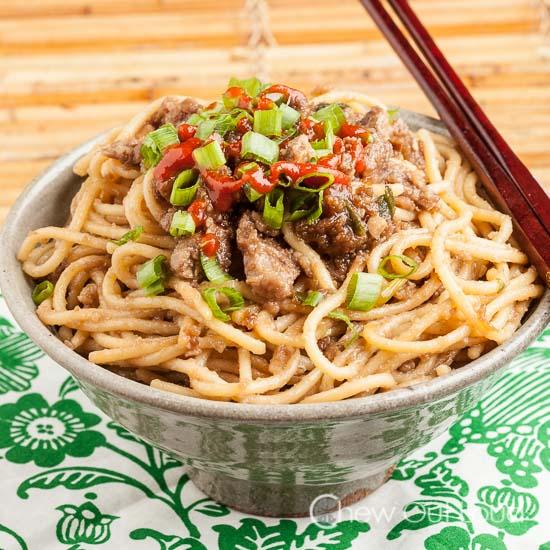Mongolian Beef Noodles 2