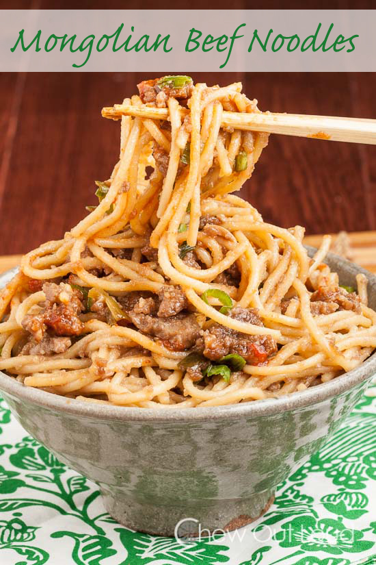 Mongolian Beef Noodles 3