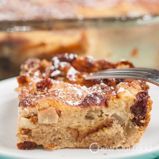 Hawaiian Apple Bread Pudding 2